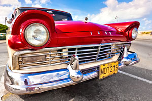 Emerald Coast Cruizin Car Show Parking