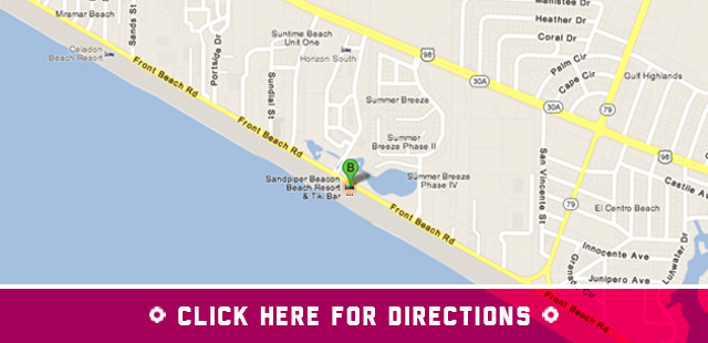 sandpiper beacon driving directions