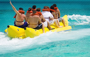 Panama City Beach Banana Boat