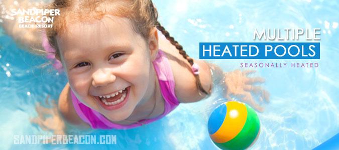 Panama City Beach Heated Pools